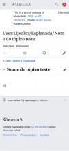 test.m.wikipedia.org_wiki_User_Lijealso_Esplanada_Nome_do_t%C3%B3pico_teste(iPhone 11 Pro Max) (1).png (2×1 px, 272 KB)