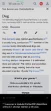 en.m.wikipedia.beta.wmflabs.org_wiki_Dog(iPhone X).png (2×1 px, 388 KB)