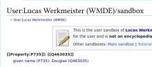 Screenshot 2021-09-30 at 16-15-14 User Lucas Werkmeister (WMDE) sandbox - Wikidata.png (249×560 px, 35 KB)